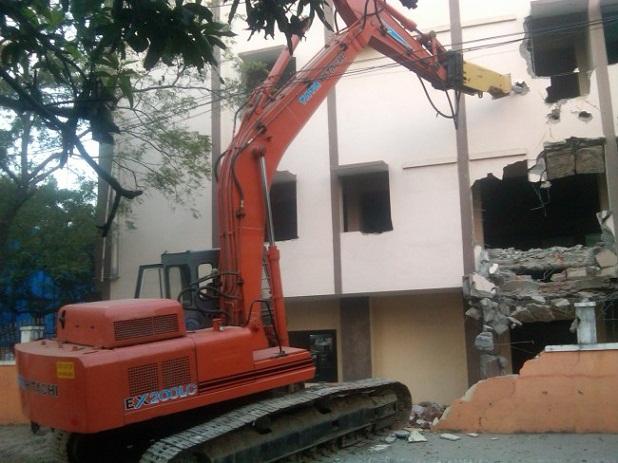 Dịch vụ phá dỡ nhà cũ chuyên nghiệp của An Định