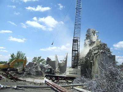 phá dỡ nhà cao tầng