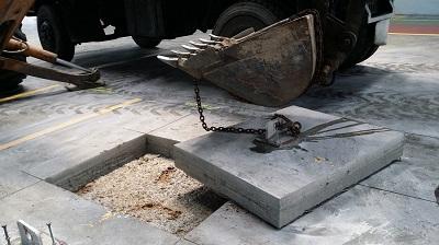 cắt bê tông nền nhà xưởng bằng đĩa kim cương
